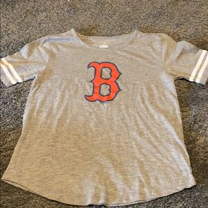 Women's Boston Redsox t-shirt m